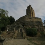 Vals, France, Ancient Catholic/Pagan Church Video